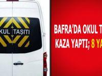 Bafra'da Okul Taşıtı Kaza Yaptı; 8 Yaralı