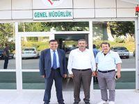 Havza Belediye Başkanı Amasya'da Ziyaretlerde Bulundu