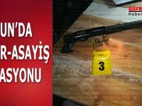 SAMSUN'DA HUZUR-ASAYİŞ OPERASYONU