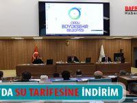 ORDU'DA SU TARİFESİNE İNDİRİM !!!