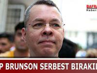 RAHİP BRUNSON SERBEST BIRAKILDI !!!