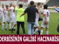 Bafra Derbisinin Galibi  Hacinabispor