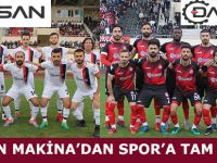 DAMSAN MAKİNA'DAN SPOR'A TAM DESTEK