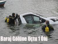 Kamyon Baraj Gölüne Uçtu 1 Ölü
