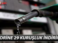 MOTORİNE 29 KURUŞLUK İNDİRİM !!!