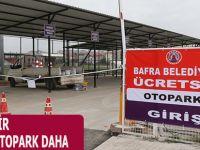 BAFRA'YA BİR ÜCRETSİZ OTOPARK DAHA