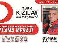 Osman Genç 21 Ekim Gazeteciler Bayramı Mesajı