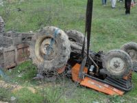 Bafrada Traktör Faciası; 1 Ölü