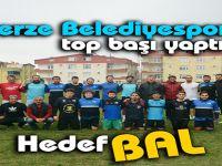 Gerzespor'da Hedef Bal Ligi