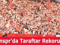 Samsunspr'da Taraftar Rekoru Kırıldı