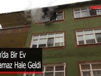 Samsun'da Bir Ev Kullanılamaz Hale Geldi !!!