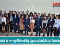 19 Mayıs İlçesinde Meteoroloji Mühendisliği Uygulamaları Çalıştayı Düzenlendi