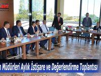 Milli Eğitim Müdürleri Aylık İstişare ve Değerlendirme Toplantısı