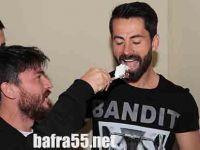 Samsunsporlu Futbolcuya sürpriz doğum günü
