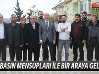 AYFER BASIN MENSUPLARI İLE BİR ARAYA GELDİ