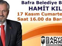Bafra Belediye Başkanı Hamit Kılıç Radyo Barış'da Canlı Yayında