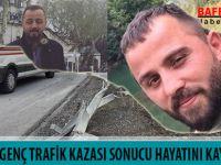 BAFRALI İKİ GENÇ TRAFİK KAZASI SONUCU HAYATINI KAYBETTİ !!!