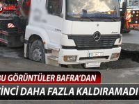 YOL VİNCİ DAHA FAZLA KALDIRAMADI !!!