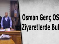 Osman Genç OSB'de Ziyaretlerde Bulundu