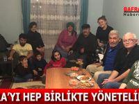 OSMAN GENÇ ''BAFRA'YI HEP BİRLİKTE YÖNETELİM''