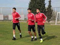 Samsunspor'da hazırlıklar Hacattepe Maçı İçin