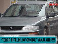 BAFRA'DA ''TERÖR NİTELİKLİ OTOMOBİL'' YAKALANDI !!!