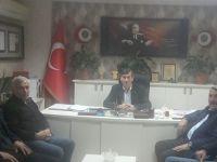 Osman Genç'ten Madeni Sanaatkarlar Odasına Ziyaret