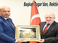 Başkan Togar'dan, Rektörlere Ziyaret