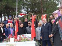 ALAÇAMLI ŞEHİT ASTSUBAY ERDAL BOLAT DUALARLA ANILDI