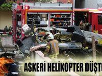 Askeri Helikopter Düştü 4 Şehit 1 Yaralı