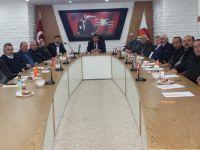 Havza Belediye Meclisinin aylık toplantısı