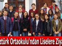 Galip Öztürk Ortaokulu' ndan Samsun Liseleri' ne Ziyaret