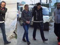 """""""Uyuşturucu ticareti yaptıkları"""" iddiasıyla aralarında bir çiftin de bulunduğu 8 kişi gözaltına alındı"""