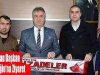 Taraftarlardan Başkan Osman Topaloğlu'na Ziyaret