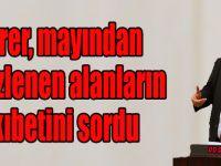 Gürer, mayından temizlenen alanların akıbetini sordu..