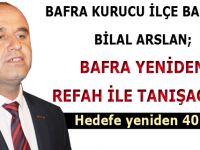 Yeniden Refah Partisi Bafra'da Start Verdi