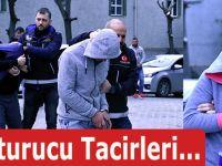 Samsun'da Uyuşturucu Tacirlerine..
