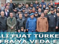 ALİ FUAT TÜRKEL BAFRA'YA VEDA ETTİ