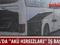 BAFRA'DA ''AKÜ HIRSIZLARI'' İŞ BAŞINDA