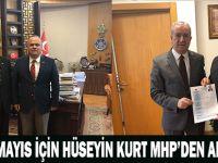 19 MAYIS İÇİN HÜSEYİN KURT MHP'DEN ADAY ADAYI