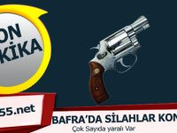 Bafra'da Sarıköy Yolunda Silahlı Saldırı