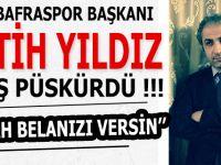 1930 BAFRASPOR BAŞKANI FATİH YILDIZ ATEŞ PÜSKÜRDÜ !!!