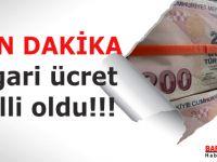 Asgari Ücret Tutarı: 2 bin 20 TL