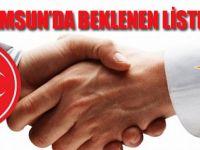 Samsun'da  Beklenen Aday İsimleri Belli Oldu!