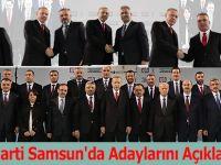 AK Parti Samsun'da Adaylarını Açıkladı