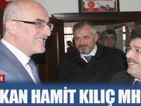 BAŞKAN HAMİT KILIÇ MHP'DE