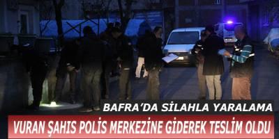 VURAN ŞAHIS POLİS MERKEZİNE GİDEREK TESLİM OLDU