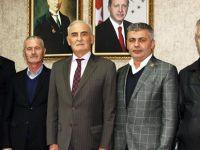 Havza Muhtarlar Derneğinden Milletvekili Yılmaz'a ziyaret