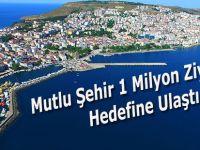 Mutlu Şehri 1 Milyon Kişi Ziyaret Etti