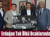 Erdoğan Tok Ülkü Ocaklarında